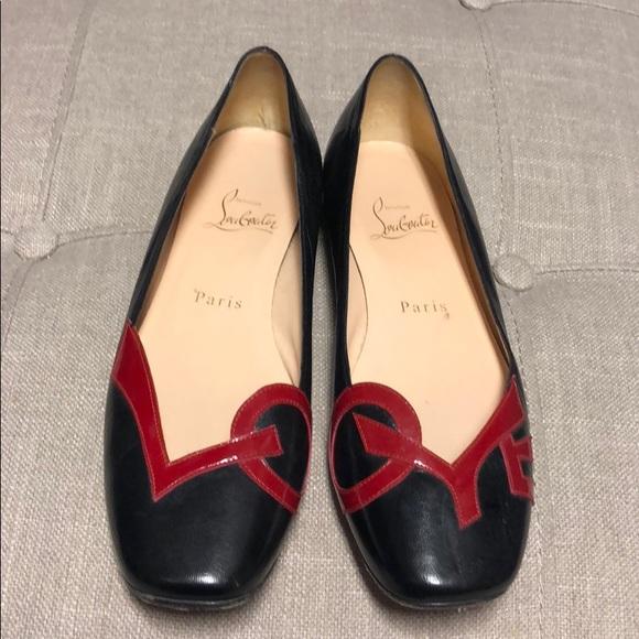 3397a2b7f6fd Christian Louboutin Shoes - Christian Louboutin love ballet flats